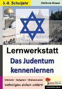 Cover-Bild zu Lernwerkstatt Das Judentum kennen lernen (eBook) von Kraus, Stefanie