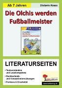 Cover-Bild zu Die Olchis werden Fußballmeister - Literaturseiten (eBook) von Kraus, Stefanie