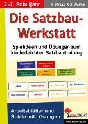 Cover-Bild zu Die Satzbau-Werkstatt (eBook) von Kraus, Stefanie