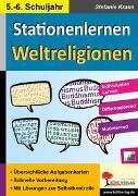 Cover-Bild zu Kohls Stationenlernen Weltreligionen (eBook) von Kraus, Stefanie