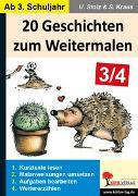 Cover-Bild zu 20 Geschichten zum Weitermalen - Band 2 (3./4. Schuljahr) (eBook) von Stolz, Ulrike