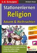 Cover-Bild zu Stationenlernen Religion / Klasse 3-6 (eBook) von Kraus, Stefanie