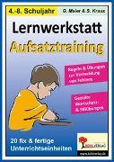 Cover-Bild zu Lernwerkstatt Aufsatztraining (eBook) von Maier, Gerlinde