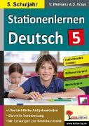 Cover-Bild zu Stationenlernen Deutsch / Klasse 5 (eBook) von Weimann, Viktoria