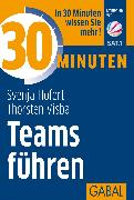 Cover-Bild zu 30 Minuten Teams führen (eBook) von Hofert, Svenja