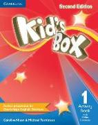 Cover-Bild zu Kid's Box Level 1 Activity Book with Online Resources von Nixon, Caroline