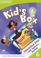 Cover-Bild zu Level 6: Interactive DVD-ROM - Kid's Box