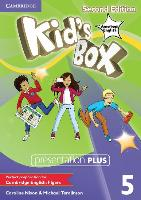 Cover-Bild zu Kid's Box American English Level 5 Presentation Plus von Nixon, Caroline