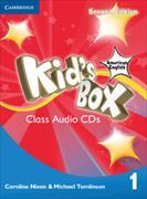 Cover-Bild zu Kid's Box American English Level 1 Class Audio CDs (4) von Nixon, Caroline