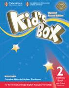 Cover-Bild zu Kid's Box Level 2 Activity Book with Online Resources British English von Nixon, Caroline