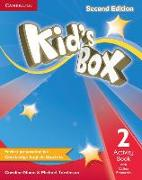 Cover-Bild zu Kid's Box Level 2 Activity Book with Online Resources von Nixon, Caroline