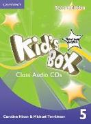 Cover-Bild zu Kid's Box American English Level 5 Class Audio CDs (3) von Nixon, Caroline