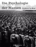 Cover-Bild zu Le Bon, Gustave: Die Psychologie der Massen