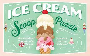 Cover-Bild zu Chronicle Books (Geschaffen): Ice Cream Scoop Puzzle