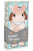 Cover-Bild zu Chronicle Books (Geschaffen): Snuggle Bunnies Notecards
