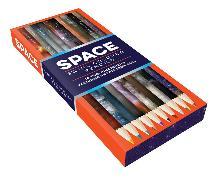 Cover-Bild zu Chronicle Books (Geschaffen): Space Swirl Colored Pencils