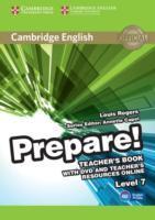 Cover-Bild zu Cambridge English Prepare! Level 7 Teacher's Book with DVD and Teacher's Resources Online von Rogers, Louis