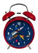 Cover-Bild zu Globi Quarz Kinderwecker Weltraum. Rot