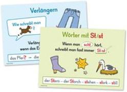 Cover-Bild zu Merk-Poster: Rechtschreibung - Grundlagen von Stang, Christian (Hrsg.)