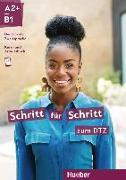 Cover-Bild zu Schritt für Schritt zum DTZ. Kursbuch + Arbeitsbuch von Hilpert, Silke