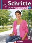 Cover-Bild zu Schritte international Neu 5+6 / Kursbuch von Hilpert, Silke