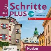 Cover-Bild zu Schritte plus Neu 5 - Österreich. 2 Audio-CDs zum Kursbuch von Hilpert, Silke