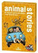Cover-Bild zu black stories junior - animal stories