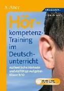 Cover-Bild zu Hörkompetenz-Training im Deutschunterricht inkl. CD von Schäfer, Stefan