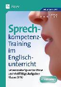 Cover-Bild zu Sprechkompetenz-Training Englisch 9/10 von Bye, Chris