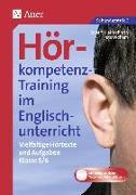 Cover-Bild zu Hörkompetenz-Training im Englischunterricht 5-6 von Kleinschroth, Robert