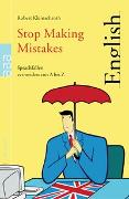 Cover-Bild zu Stop Making Mistakes von Kleinschroth, Robert