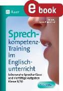 Cover-Bild zu Sprechkompetenz-Training im Englischunterricht 9-1 (eBook) von Bye, Chris