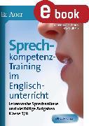 Cover-Bild zu Sprechkompetenz-Training im Englischunterricht 7-8 (eBook) von Kleinschroth, Robert