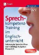 Cover-Bild zu Sprechkompetenz-Training im Englischunterricht 5-6 von Kleinschroth, Robert