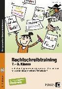 Cover-Bild zu Rechtschreibtraining - 7.-9. Klasse von Herzog, Marisa
