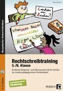 Cover-Bild zu Rechtschreibtraining - 5./6. Klasse von Herzog, Marisa