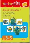 Cover-Bild zu Bambino Lük. Konzentrationsspiele 01 von Junga, Michael