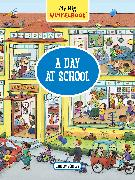 Cover-Bild zu Görtler, Carolin: My Big Wimmelbook-A Day at School