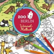 Cover-Bild zu Görtler, Carolin (Illustr.): Zoo Berlin Malbuch