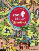 Cover-Bild zu Görtler, Carolin (Illustr.): Zoo Berlin Wimmelbuch