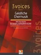 Cover-Bild zu 3 voices Band 2 - Geistliche Chormusik von Maierhofer, Lorenz (Hrsg.)