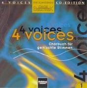 Cover-Bild zu 4 voices - CD Edition. Die klingende Chorbibliothek. CD 1. 1 AudioCD von Maierhofer, Lorenz (Hrsg.)