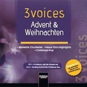 Cover-Bild zu 3 voices Advent & Weihnachten, Doppel-CD von Maierhofer, Lorenz