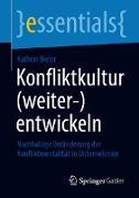 Cover-Bild zu Konfliktkultur (weiter-)entwickeln (eBook) von Bieler, Kathrin