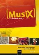 Cover-Bild zu MusiX 2. 6 AudioCDs. Allg. Ausgabe D von Detterbeck, Markus