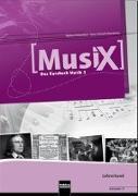 Cover-Bild zu MusiX 3. Lehrerband (Ausgabe D) von Detterbeck, Markus