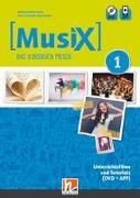 Cover-Bild zu MusiX 1. Unterrichtsfilme und Tutorials. Neuausgabe 2019 von Detterbeck, Markus
