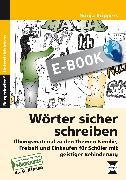 Cover-Bild zu Wörter sicher schreiben (eBook) von Küppers, Sonja