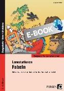 Cover-Bild zu Lernstationen Fabeln (eBook) von Schmidtke, Inge
