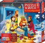 Cover-Bild zu Puzzle & Buch: Die Weihnachtsgeschichte von Smith, Sam